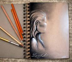 Sketch Journal - Face doodle