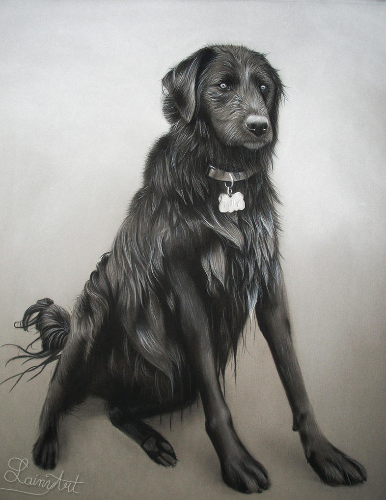 Tilly - Charcoal Commission by secrets-of-the-pen