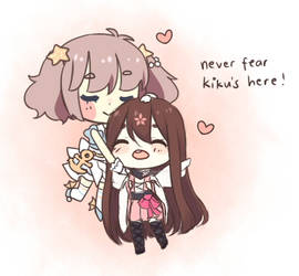 Never fear! by Shiroinya
