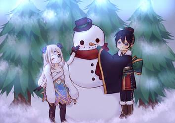 Snowman Dreams by Shiroinya