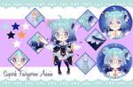 [Commission] Superb Fairywren custom annie