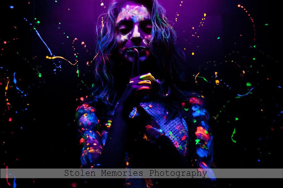 Rave Paint Party Ideas