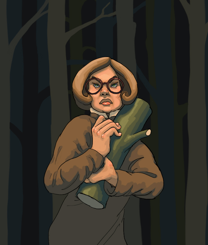 The Log Lady by nausved