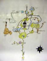 Zelda world Map by YoshisGhost