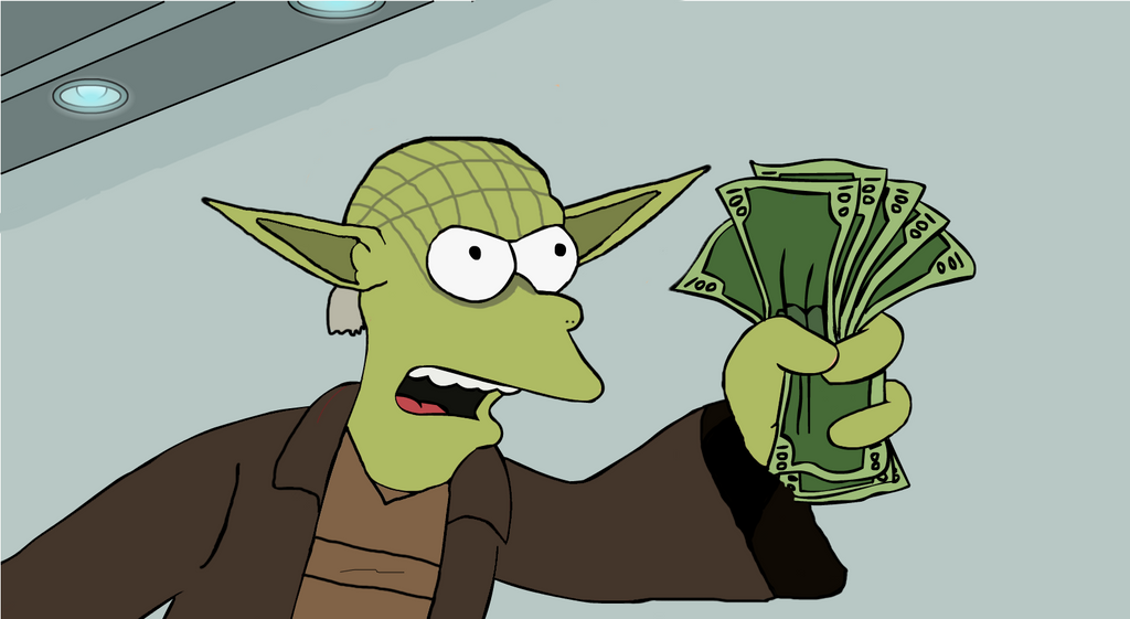 master yoda shut up and take my money by doulla on deviantart