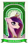 Queen of Pentacles by SkyeyPony