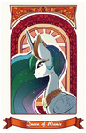Queen of Wands by SkyeyPony