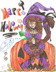 Happy Halloweeeeeeeen colored