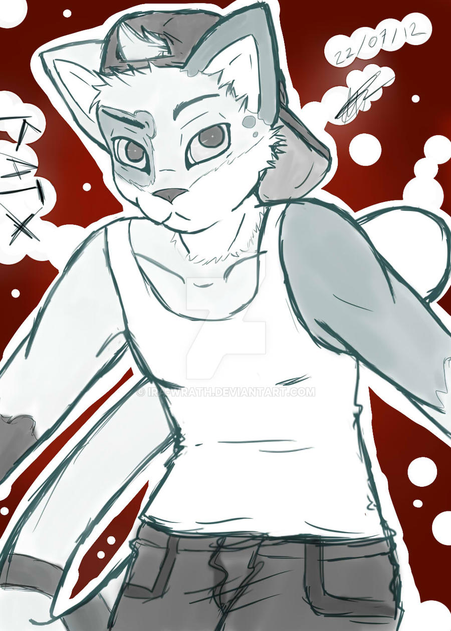 Sketch 9.- Katx (katx-fish) by Ira-WratH