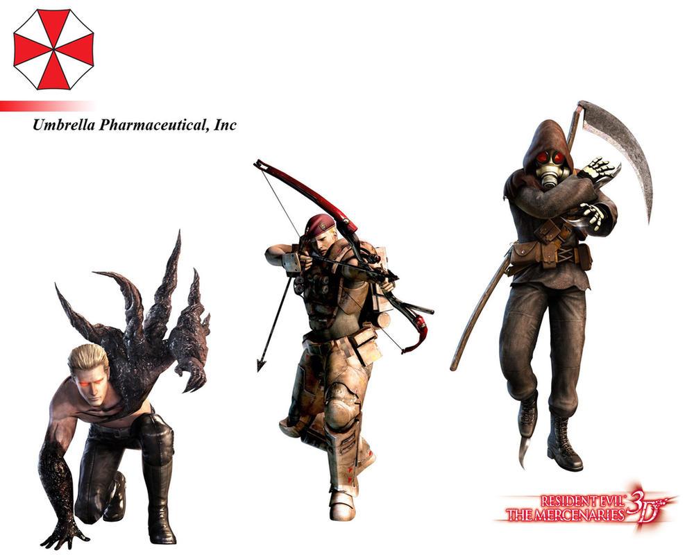 Resident Evil: The Mercenaries by ShiroTagachi