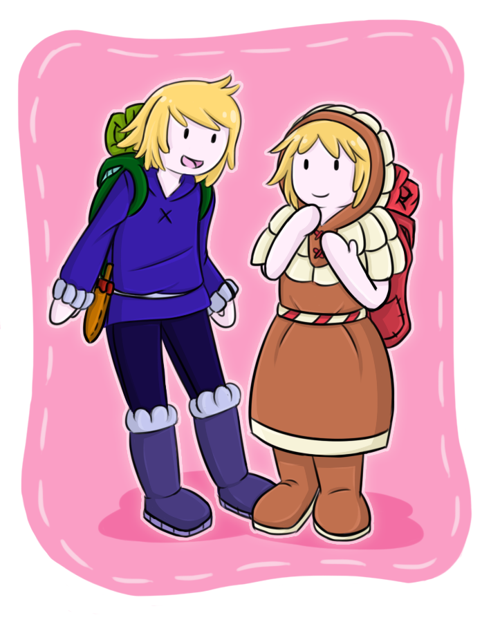 Adventure Time Jay And Bonnie Jay and Bonni by cjwolf207