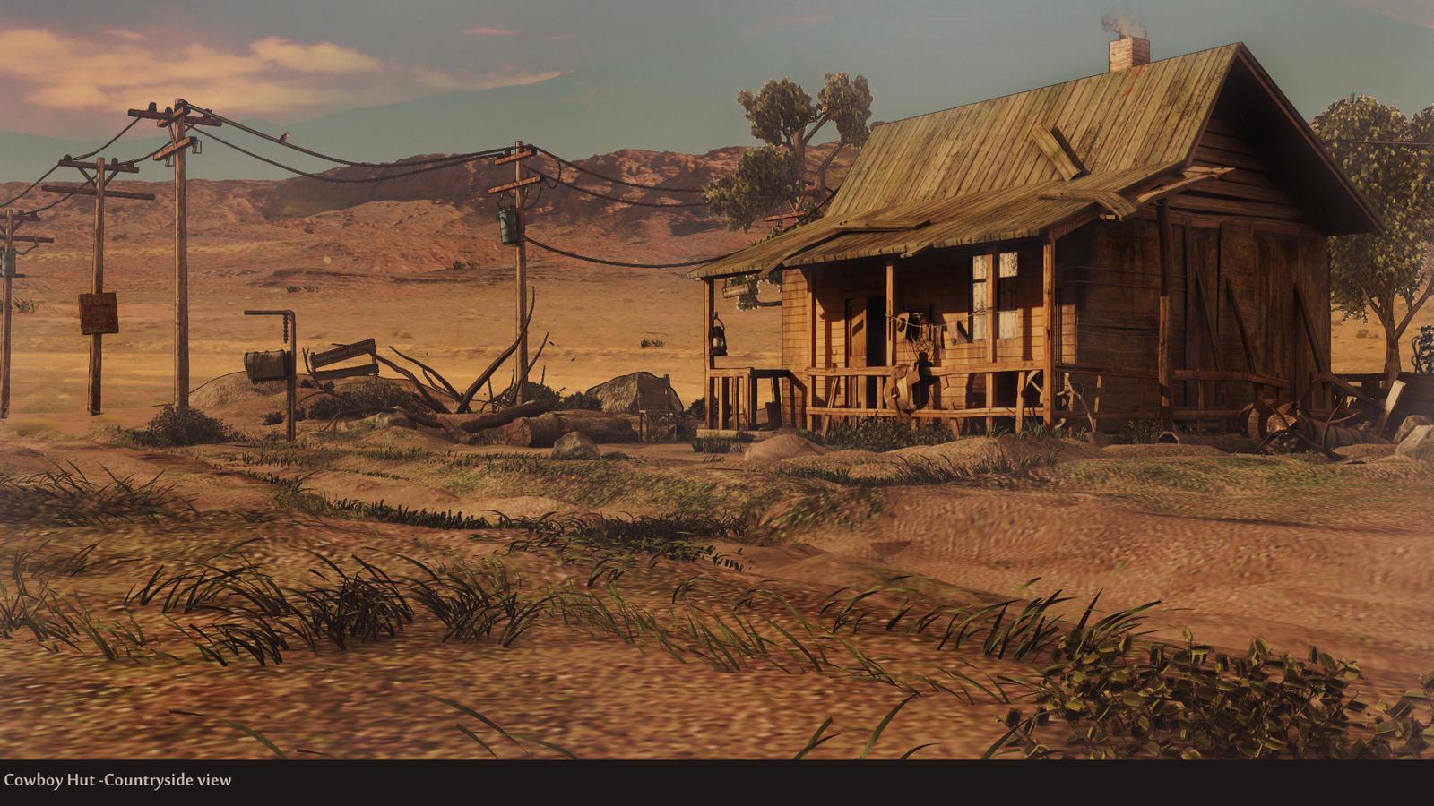 Cowboy Hut by Dushyant20b