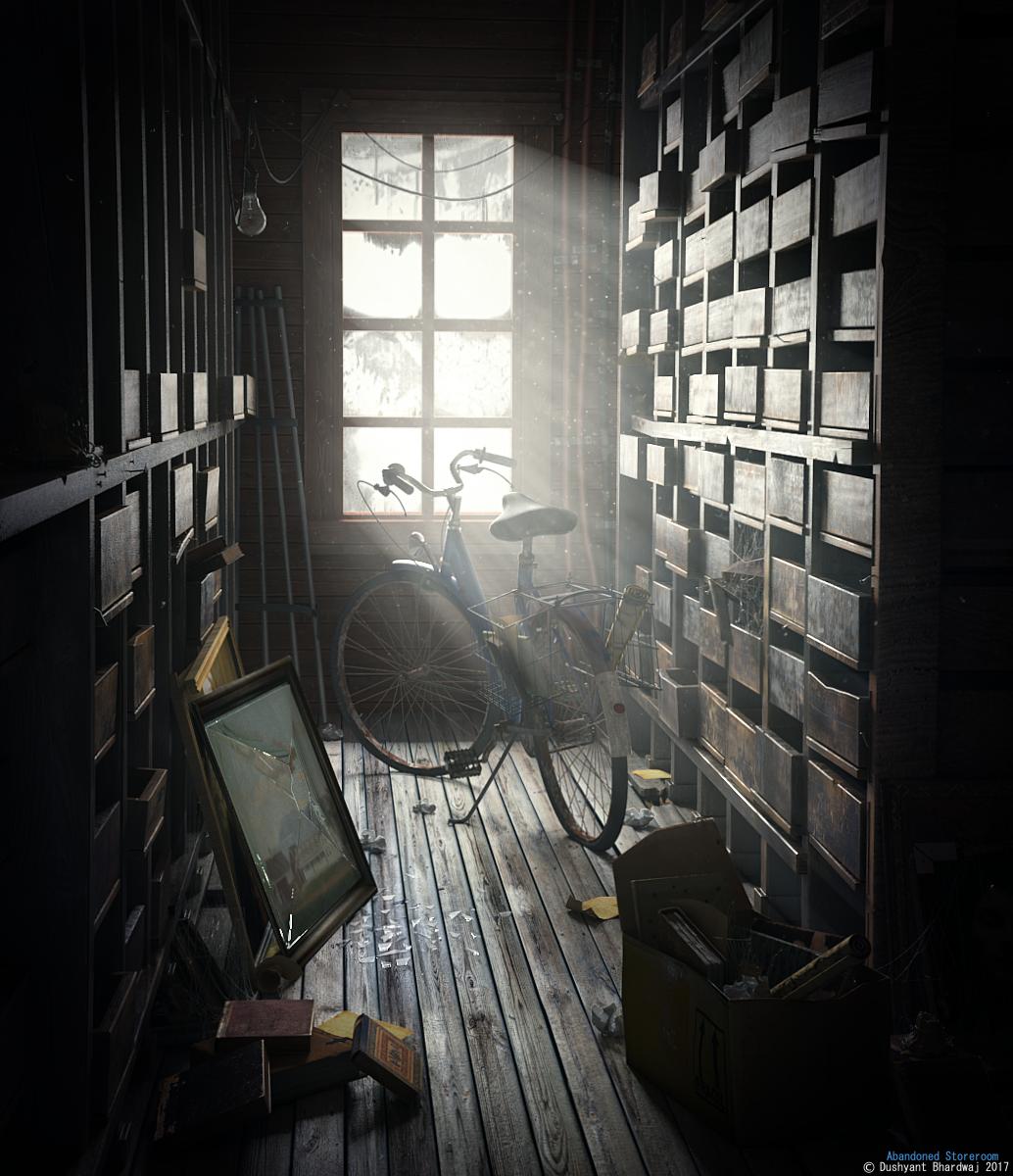 Abandoned Storeroom by Dushyant20b