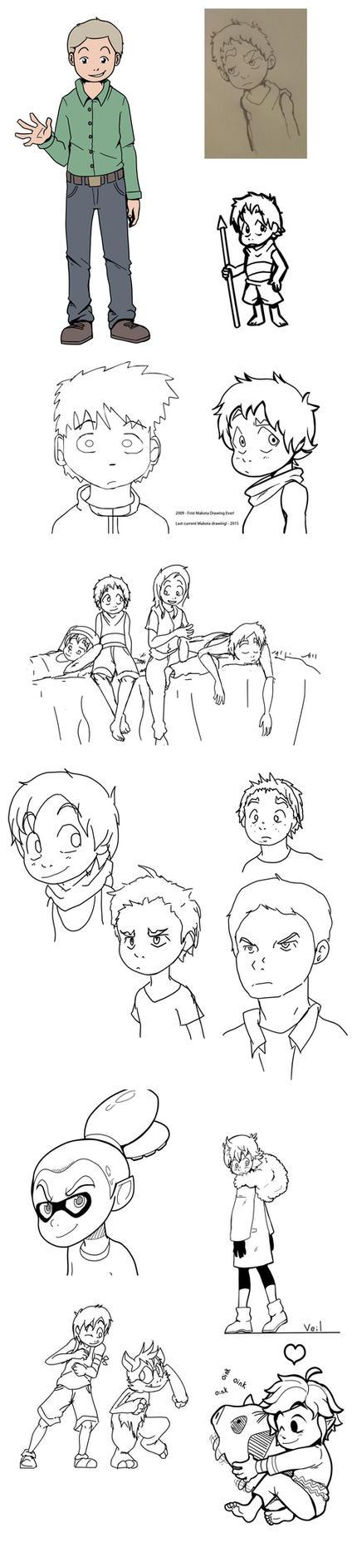 Sketch Dump 22! The Twitterz by Parimak