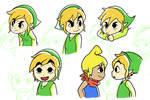 Sketch Dump 25! Toon Link!!