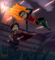 Damian and Jon in trouble