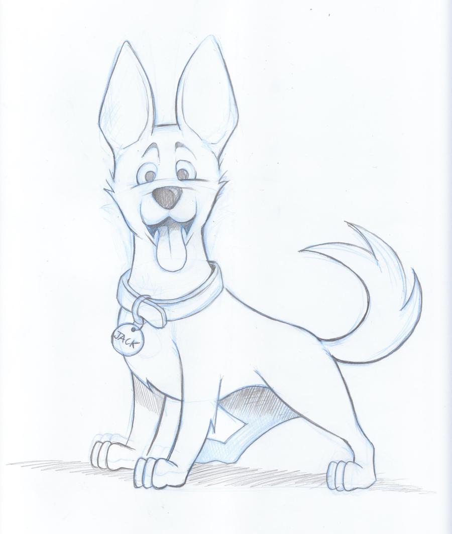 Kelpie Dog Sketch by timmcfarlin on DeviantArt