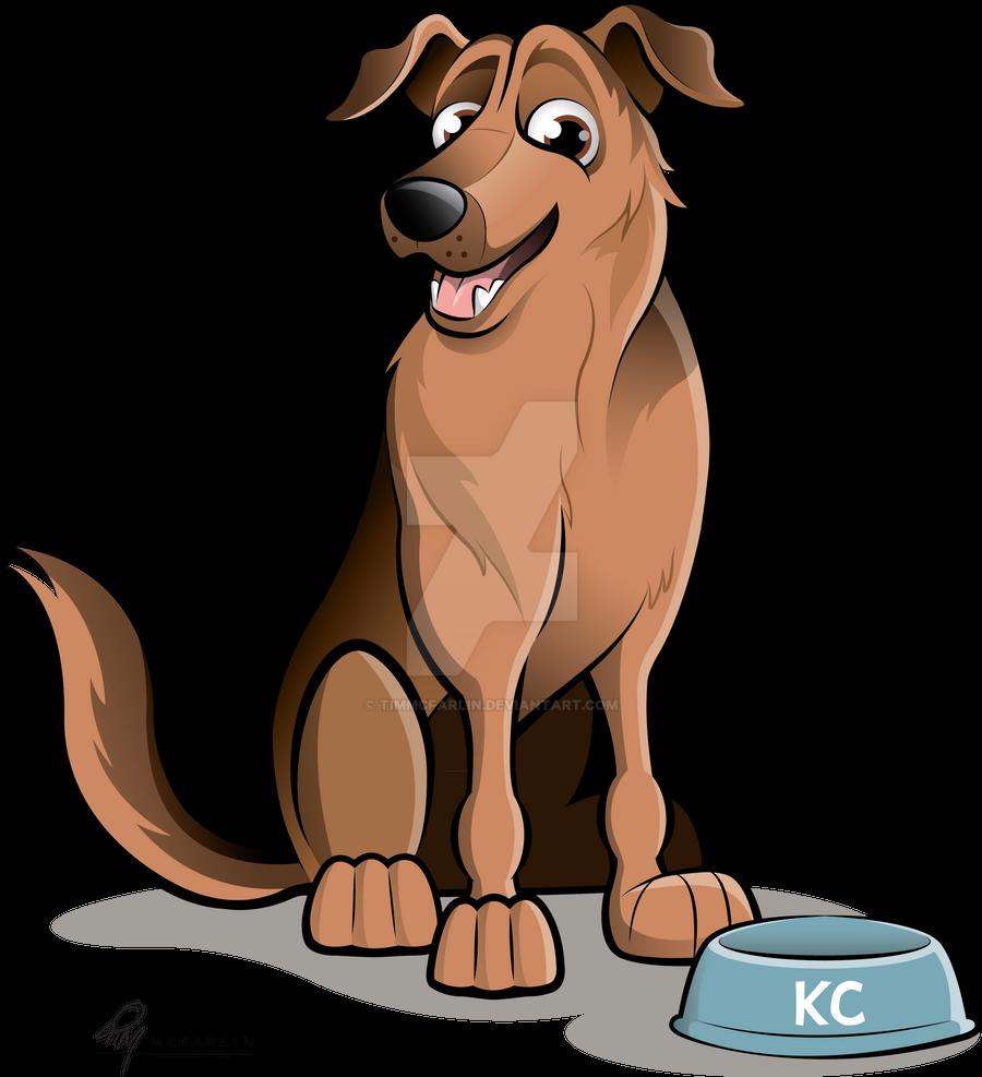 German Shepherd X Caricature by timmcfarlin