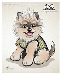 Dog Caricature Vector