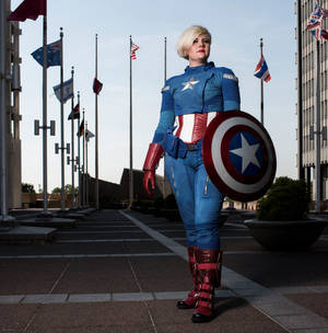 Captain America Genderswap Cosplay