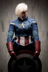Captain America Genderswap Cosplay by imatangelo
