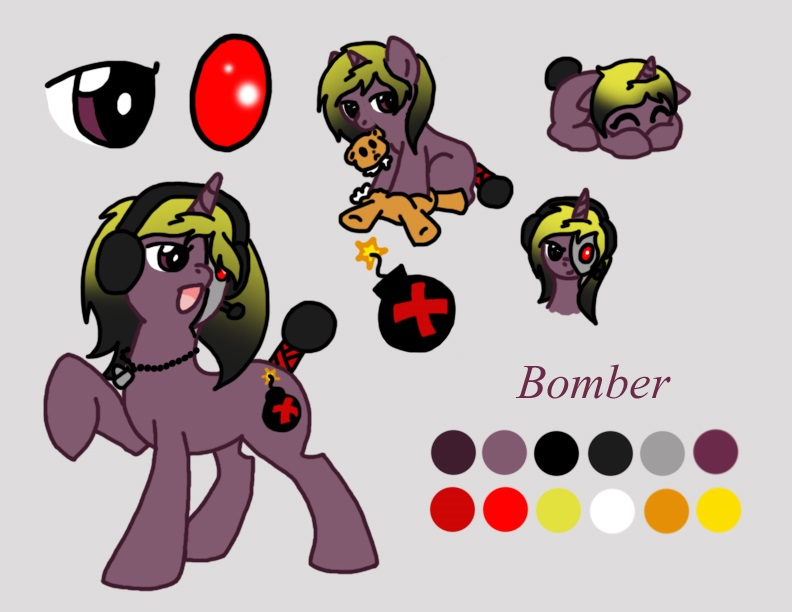 Bomber ref page by twins6292