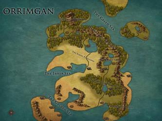 Map of Orrimgan by BobtheSkull666
