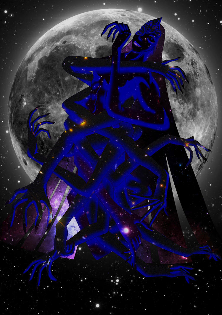 Infinite Queen of the New Moon by Shadow-wing2