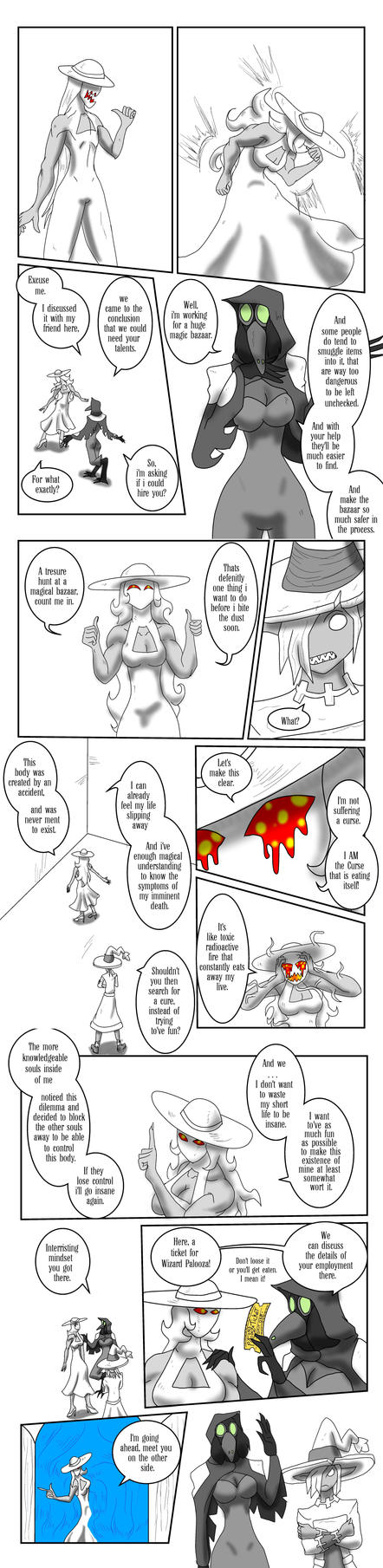 WizardPaloozaOCT - Eglantina - Audition - 05 by Shadow-wing2