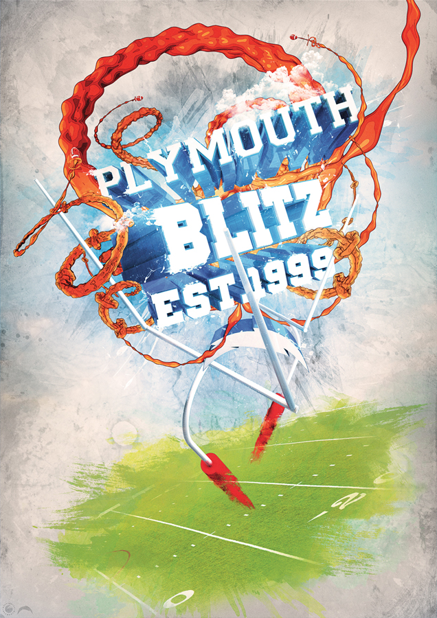 University of Plymouth Blitz by billelis