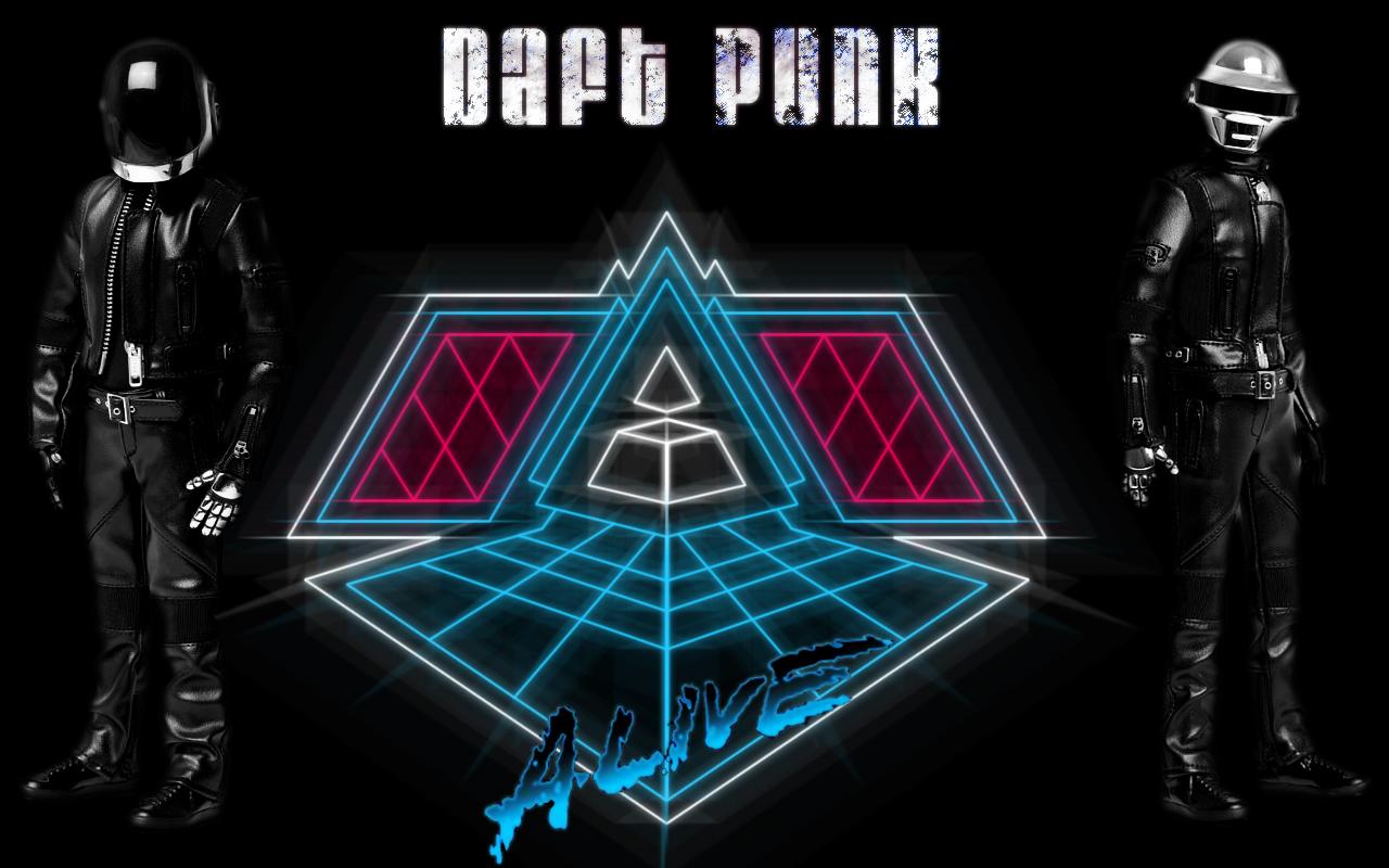 Daft Punk - Alive by Higike on DeviantArt