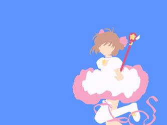 Minimalist Sakura by lazycymbals