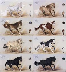 [CLOSED] Quarter horse| Batch A| Auction