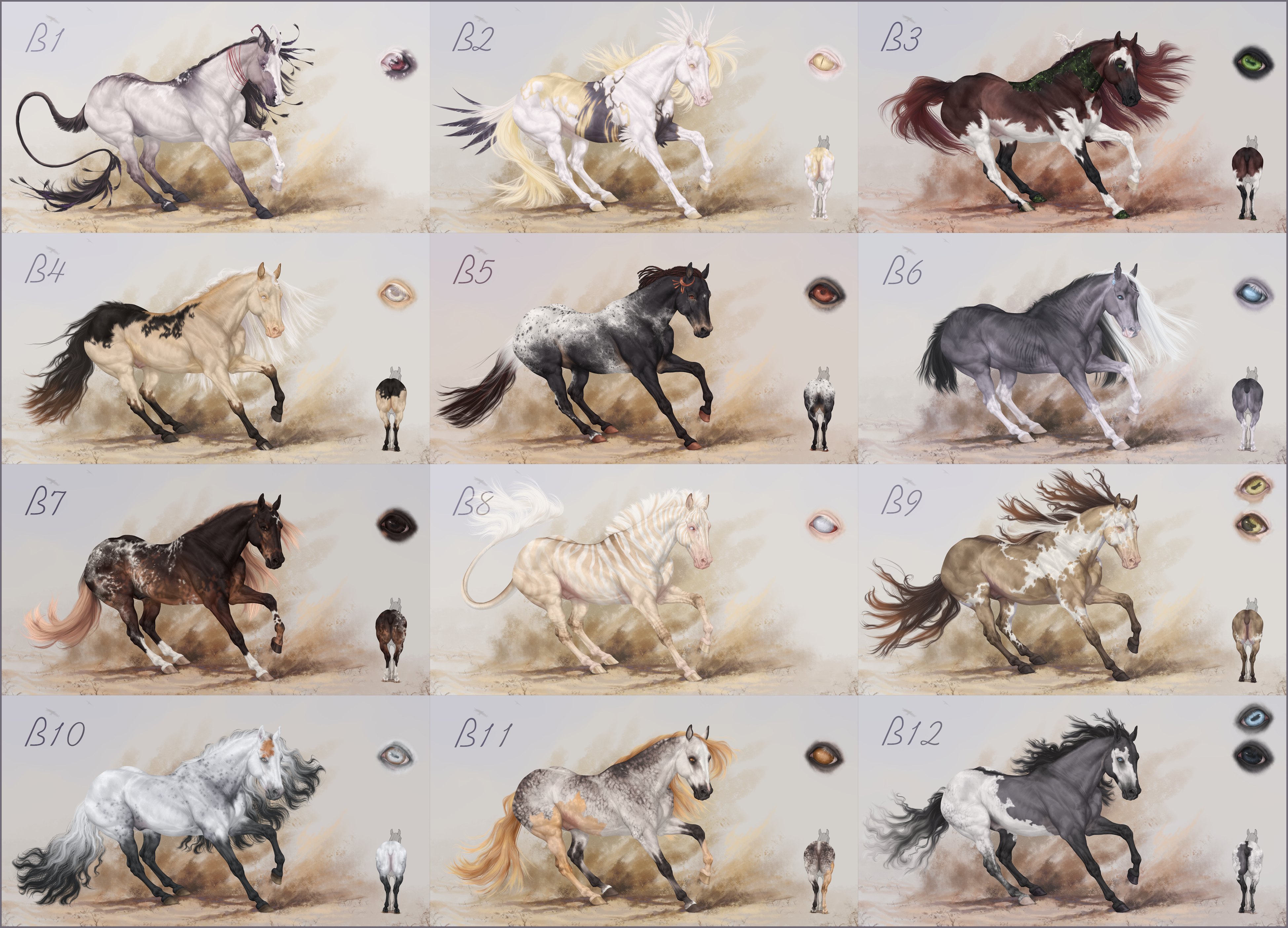 [CLOSED] Quarter horse| Batch B| Auction