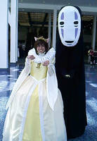 Haru and No Face by ObsessedXShipper