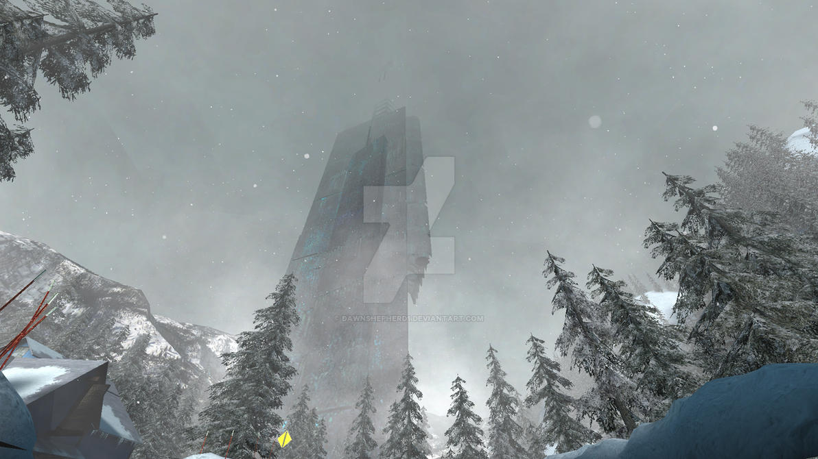 Half Life 2 Citadel At Snow By Dawnshepherd1 On Deviantart