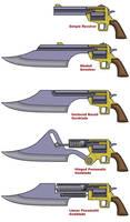 Gunblade diagrams