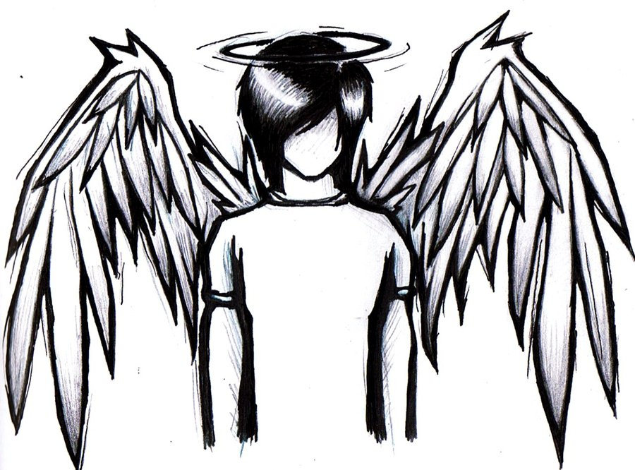 Emo anime angel by Auburnlover229 on DeviantArt