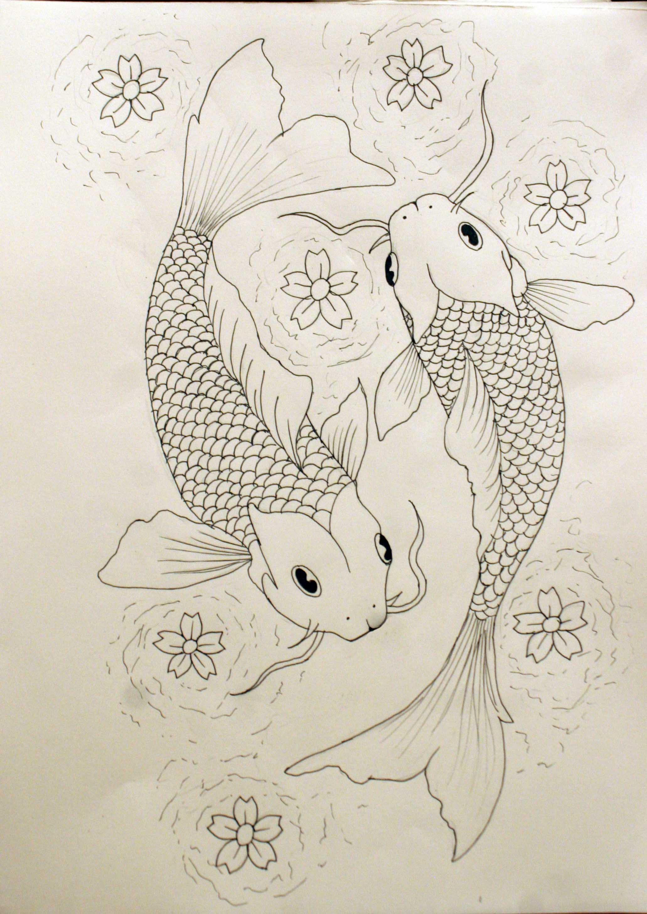 pisces tattoo outline by kelseysparrow67 on deviantart. Black Bedroom Furniture Sets. Home Design Ideas