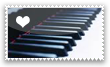 Piano - Stamp by SuuJeanne