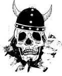 Viking's skull