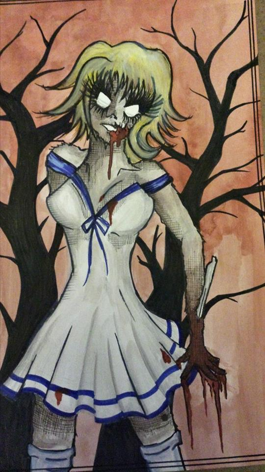 Sailor Zombie by Artistic-Kindness