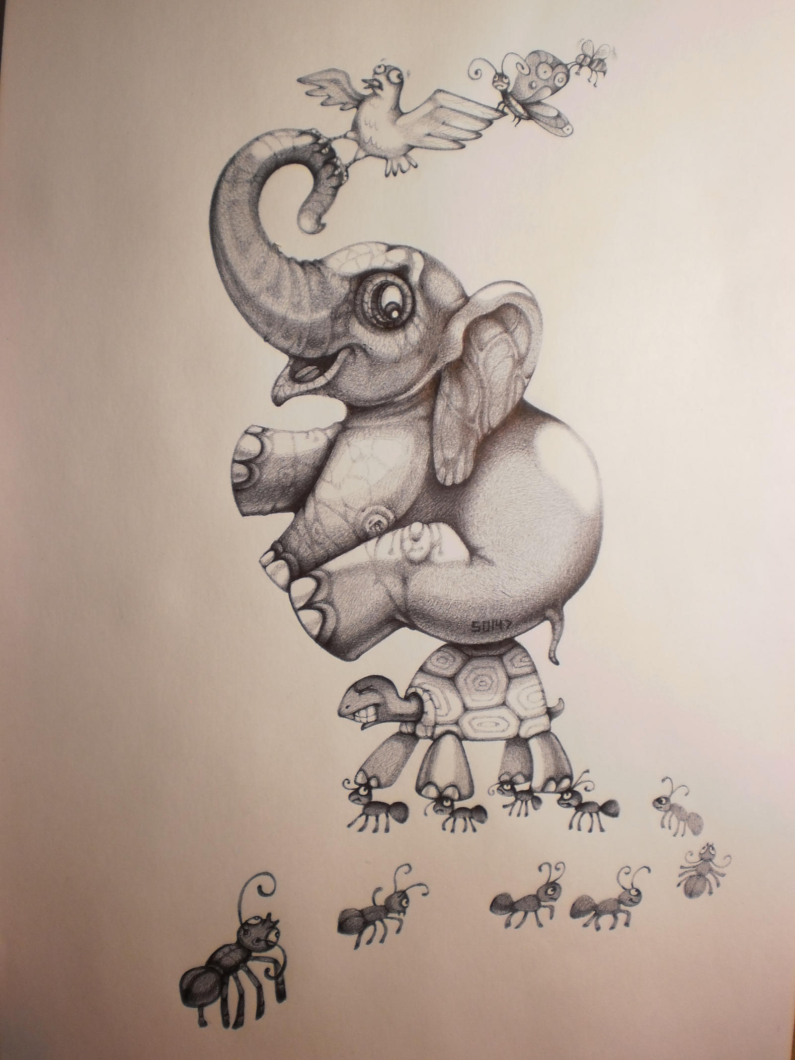 Animal crazy irony by solecancinos