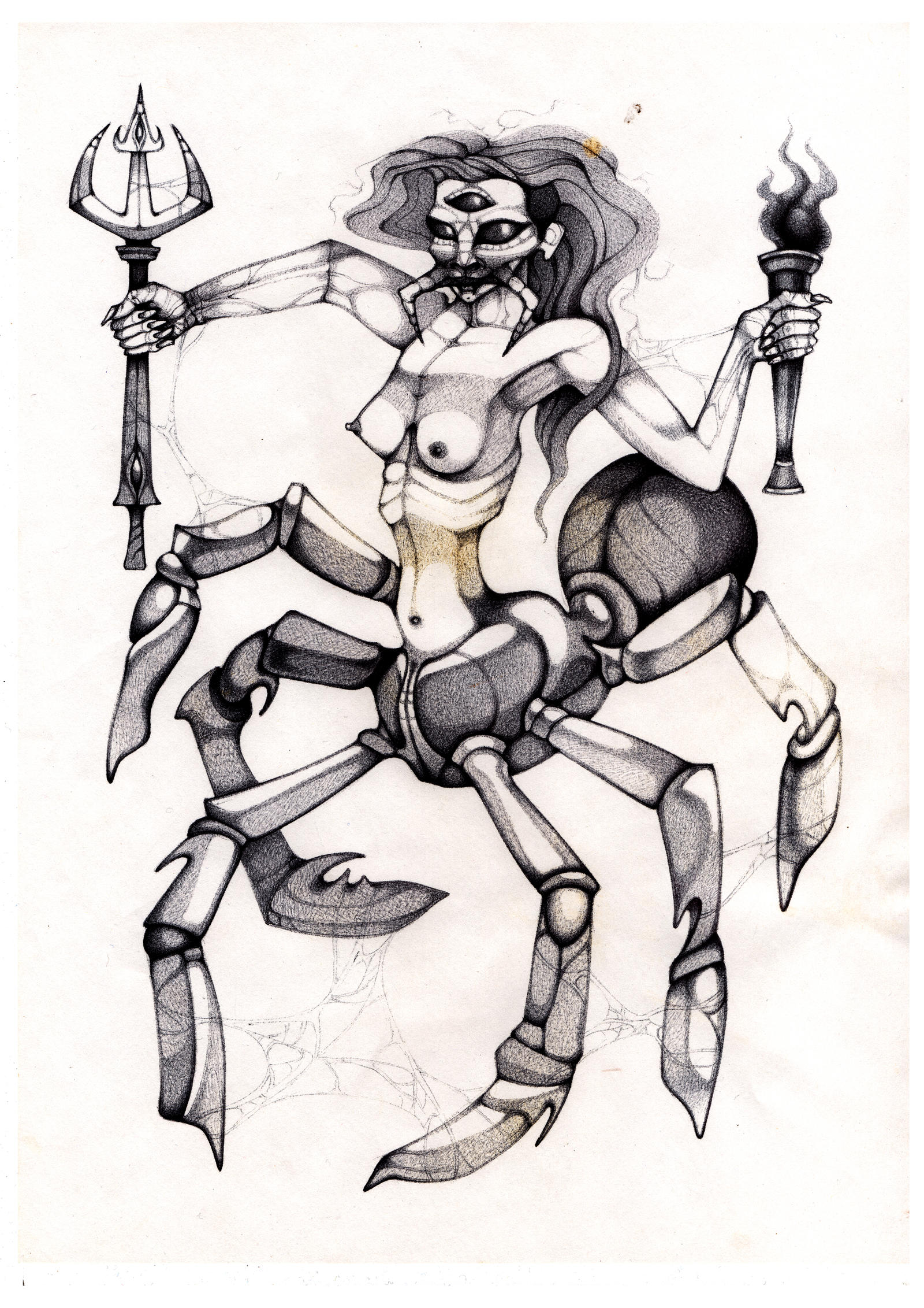 Arachne (book :unholy goddesses of the darkside) by solecancinos