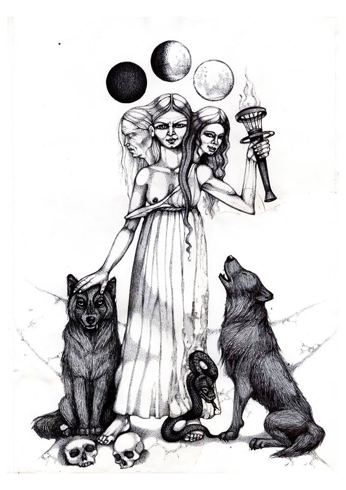 Hecate by solecancinos