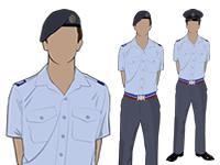 Air Cadet Male Adult SNCO No2 shirtsleeve Uniform by aircadetresource