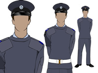 Various No2 Uniform with SD Hat by aircadetresource