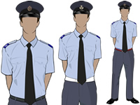 Male Adult SNCO No2 Uniform with SD Hat by aircadetresource