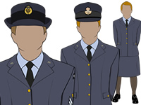 Various Female Air Cadets Uniform by aircadetresource