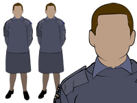 Working Blue No.2 uniform by aircadetresource